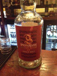 Springbank 17y Sherry Cask